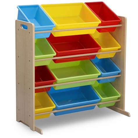 Toy Storage Plastic Bins