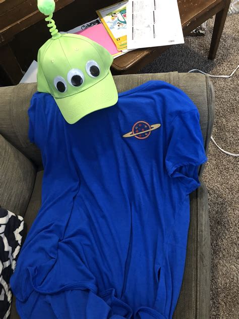 Toy Story Diy Alien Costume