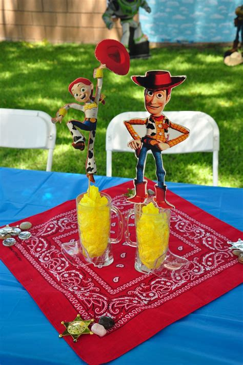 Toy Story Diy Centerpieces