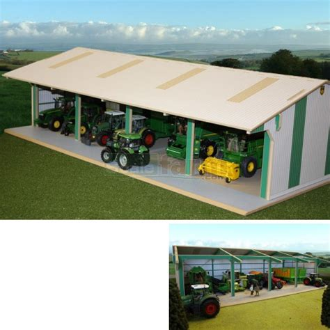 Toy Tractor Shed Plans