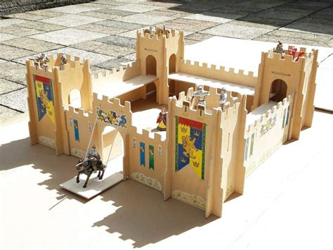 Toy Wood Fort Plans