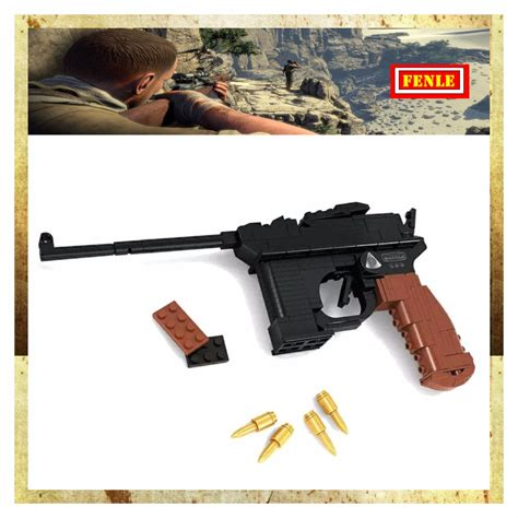Toy Wooden Guns World War 2