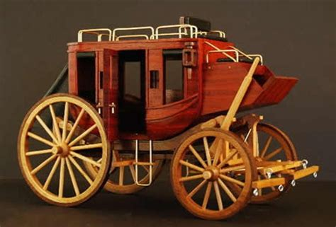 Toy Wooden Stagecoach Plans