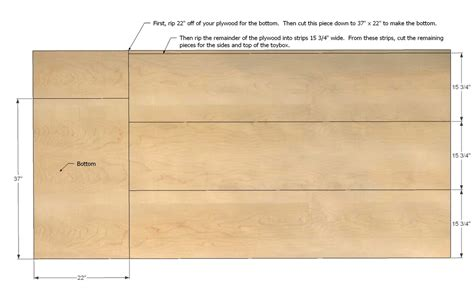 Toy-Box-Plans-One-Sheet-Plywood