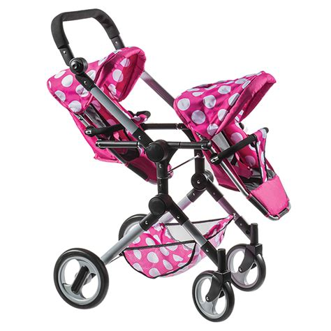 Toy-Twin-Strollers-For-Dolls