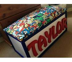 Best Toy boxes for boys with name