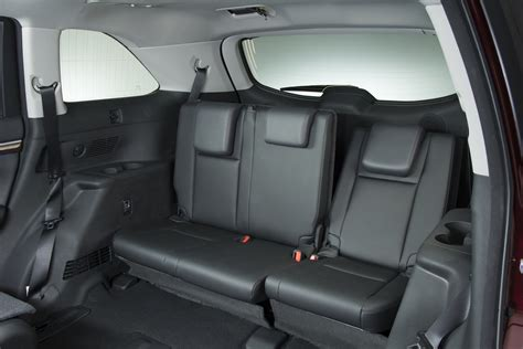Toyota Reclining Rear Seats