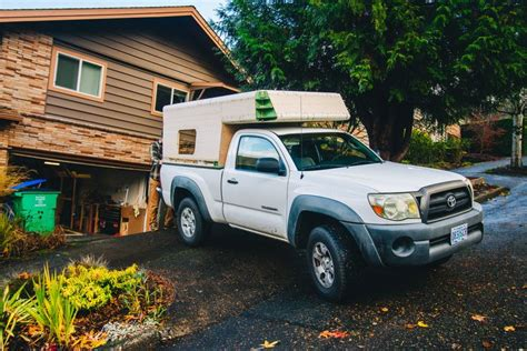 Toyota Tacoma Diy Bed Camper For Toyota