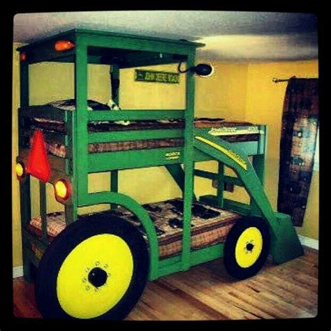 Tractor Bunk Bed Designs