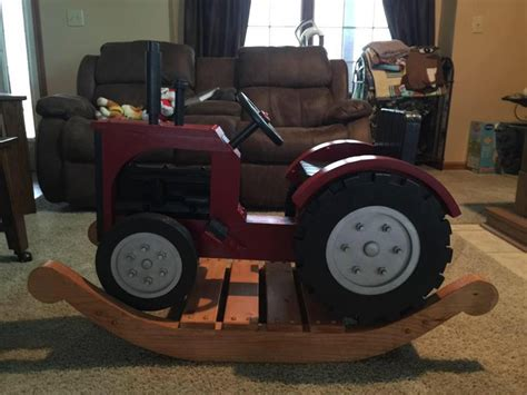 Tractor Rocking Chair