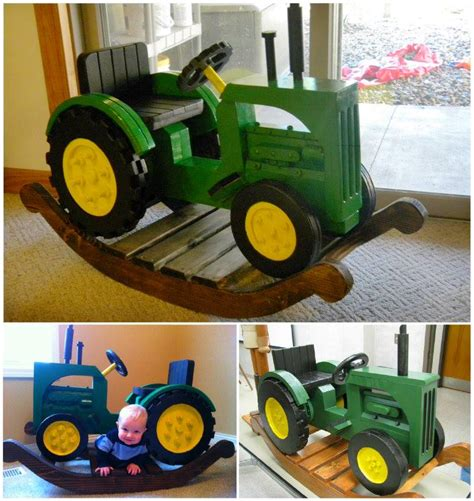 Tractor-Rocking-Horse-Plans