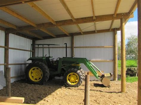Tractor-Storage-Shed-Plan