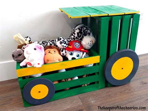 Tractor-Toy-Box-Plans