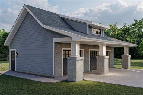 Traditional Detached Garage Plans