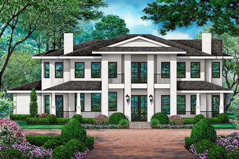 Traditional Farmhouse Plans With Porches