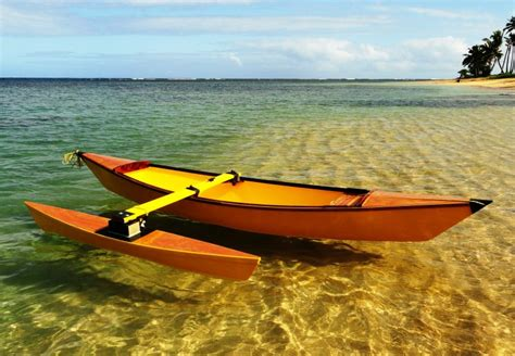 Traditional Hawaiian Outrigger Canoe Plans