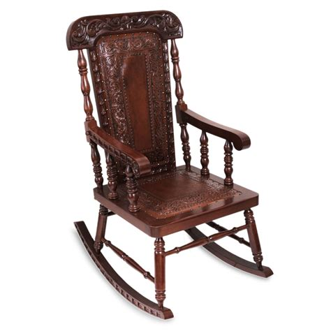 Traditional Wooden Rocking Chair UK
