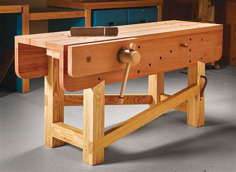 Traditional-Woodworking-Workbench-Plans