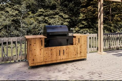 Traeger Grill Diy Table Plans
