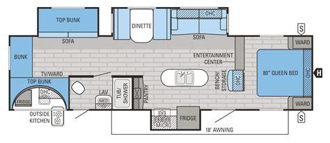 Trailer-Floor-Plans-With-Bunk-Beds