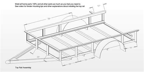 Trailer-Frame-Plans