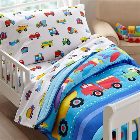 Train Bedding For Toddlers