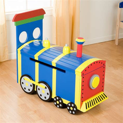 Train Toy Box Design