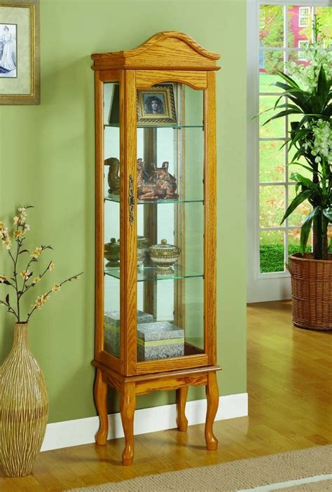 Transitional Curio Cabinets For Sale