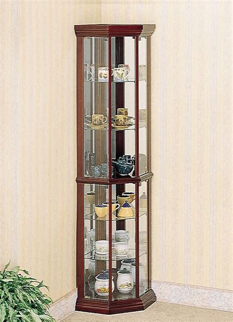 Transitional Discount Corner Curio Cabinets
