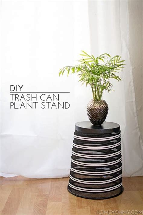 Trash Can Plant Stand