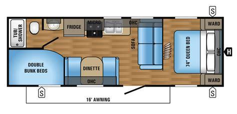 Travel-Trailer-Floor-Plans-Bunk-Beds