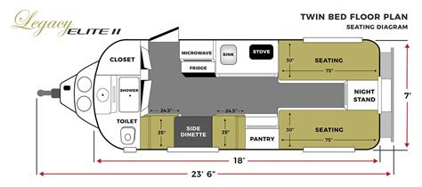 Travel-Trailers-With-Twin-Bed-Floor-Plans