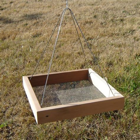 Tray Bird Feeder Diy