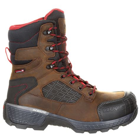 Treadflex Composite Toe WP 8in Work Boot