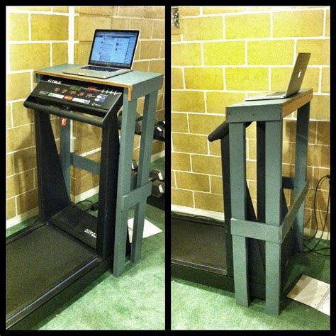 Treadmill Laptop Stand Diy