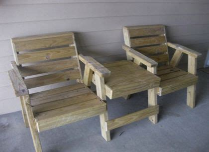 Treated Wood Outdoor Furniture Plans