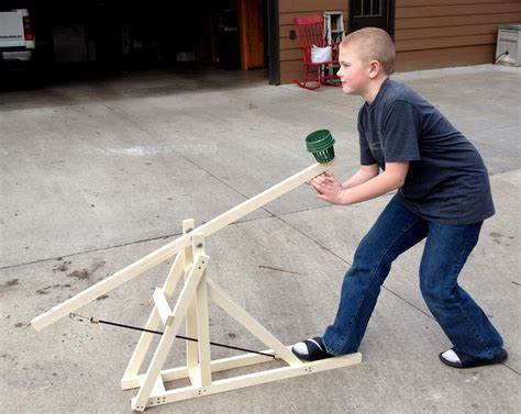 Trebuchet Plans Tennis Ball