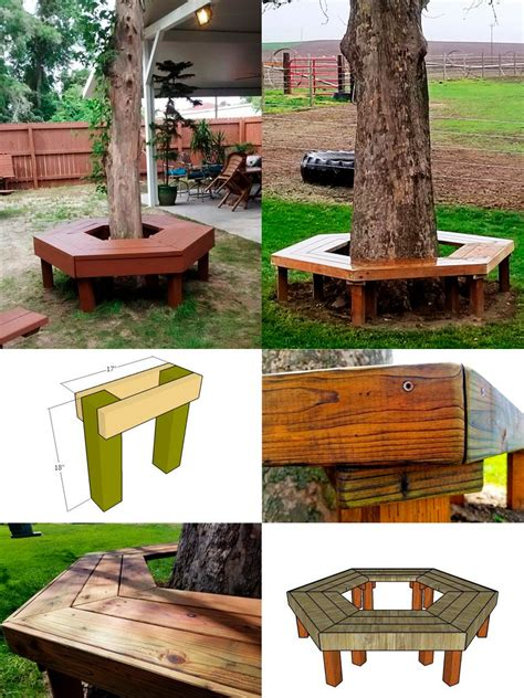 Tree Bench Design
