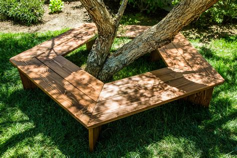Tree Bench Diy