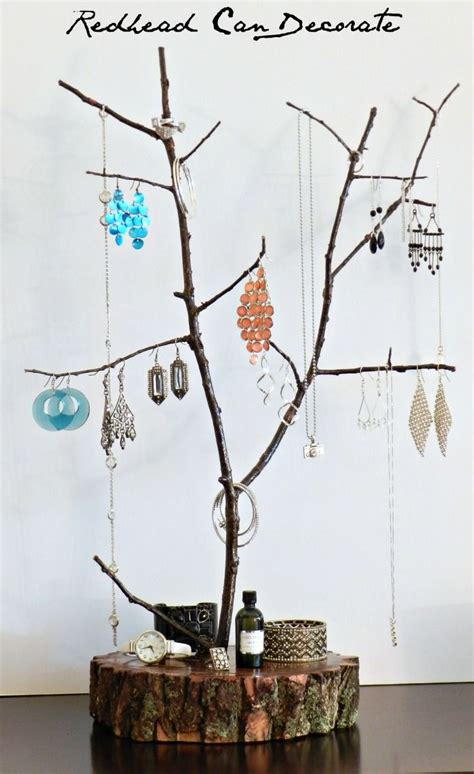 Tree Branch Jewelry Stand Diy Fire