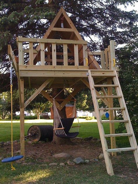 Tree Fort Plans Playhouse