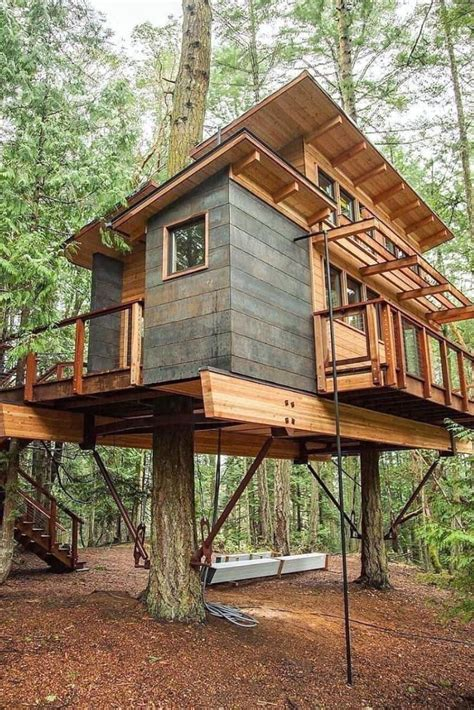 Tree House Plans Designs