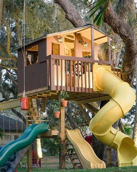 Tree House Plans For Kids