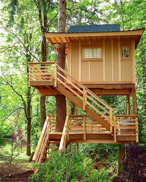 Tree House Plans For Kids Small