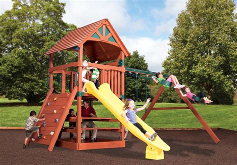 Tree House Swing Set Plans