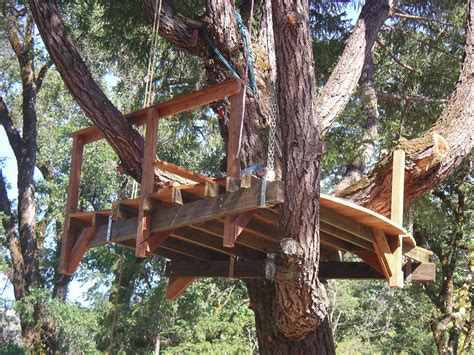 Tree House Under Deck Plans