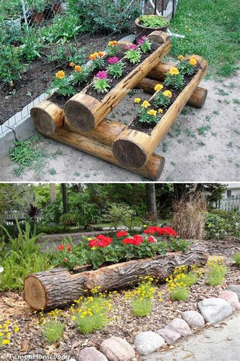 Tree Log Diy Ideas