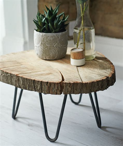 Tree Slab Table Diy Ideas