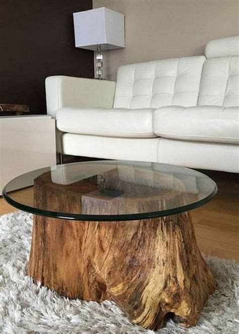 Tree Stump Furniture Diy