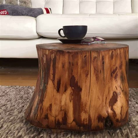 Tree Stump Side Table Diy Plans